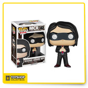Let's give three cheers for sweet revenge! This My Chemical Romance Revenge Gerard Way Pop! Vinyl Figure features the lead singer of the rock band as he looked during the time of their second album. Standing about 3 3/4-inches tall, this figure is packaged in a window display box. Ages 14 and up.