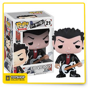 Funko presents a surprising take on one of the most influential bands of all time, the punk rockers of the Sex Pistols! This series of 3 1/2' tall vinyl figures includes Sid Vicious, Johnny Rotten, and Steve Jones, transforming them into into collectible figures that feature Funko's uniquely stylized design, rotating heads, and articulation. Window box packaging.