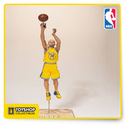 Golden State Warriors sharpshooter Stephen Curry returns to the lineup in a shooting pose. Considered one of the greatest shooters in NBA history, Steph Curry led the Warriors to their first NBA Championship since 1975 and was named 2015 NBA Most Valuable Player. Curry is immortalized taking yet another impossible shot in his Golden State Warriors uniform and stands approximately 7-inches tall. Ages 13 and up. 30 GTS Exclusive