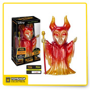 That Maleficent is on fire! One of Disney's most iconic villains joins Funko's Hikari Sofubi line of vinyl figures! This Sleeping Beauty Inferno Maleficent Hikari Sofubi Vinyl Figure features red, yellow, and orange colors. Standing about 9-inches tall and limited to only 500 pcs worldwide, this is the vinyl figure no Disney or Sleeping Beauty fan should be without! Each Maleficent figure comes individually numbered. Ages 3 and up.