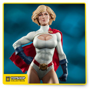 "Based on artwork by renowned pinup artist Stanley 'Artgerm' Lau, Sideshow Collectibles is proud to present the Power Girl Premium Format™ Figure from DC Comics. Expertly crafted in polystone by Sideshow's artists, Karen Starr makes a lasting impression as Power Girl, standing 21"" tall over the battle-torn streets of Metropolis. The perfect addition for any DC Comics or Justice League collection, Sideshow's Power Girl Premium Format™ Figure is sure to knock your socks off!"