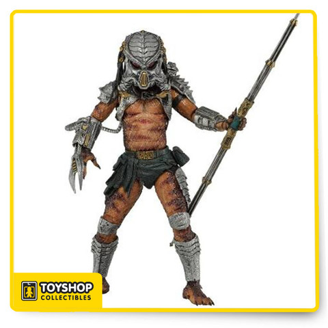 The 13th series of our longest running figure collection is an homage to the classic Kenner Expanded Universe Predators of the early 1990s!Cracked Tusk appeared in the original Alien vs. Predator comic book pack-in included with their classic Kenner figures. Taking inspiration from those designs. Neca team has applied modern sculpting, detail and articulation to upgrade these vintage Predators for the new millennium.