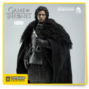 Jon Snow is the bastard son of Lord Eddard Stark of Winterfell. Sideshow Collectibles and Threezero are excited to present the Jon Snow Sixth Scale Collectible Figure from HBO's Game of Thrones. Standing over 11 inches tall, this figure features a custom designed action figure body and new head sculpt with a realistic likeness. Reporting for duty as part of the Night's Watch, Jon Snow includes an accurate tailored cloth costume, exchangeable hands and sword. Game of Thrones fans, don't miss your chance to own this incredibly detailed figure!