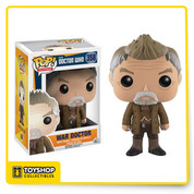 No more will your Doctor Who pop collection be missing the famous War Doctor from the 50th Anniversary Special. Capturing the likeness of actor John Hurt, this Doctor Who War Doctor Pop! Vinyl Figure measures approximately 3 3/4-inches tall and comes packaged in a window display box