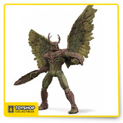DC COMICS THE NEW 52 SWAMP THING DELUXE ACTION FIGURE - DC COMICS - The Protector of the Green from the pages of the critically acclaimed series SWAMP THING is transformed into a deluxe action figure based on the designs of acclaimed artist Yanick Paquette. FEATURES • Poseable Wings • Removable Shield and Sword