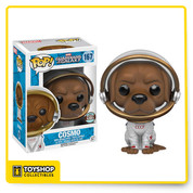 For those who don't know Cosmo, he's the Russian space dog from the modern Guardians of the Galaxy comic book, now you can upgrade your collection with this Guardians of the Galaxy COSMO . Funko Pop SPECIALTY SERIES.