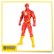 Based on the designs from the best-selling artist, Greg Capullo, comes this DC Comics Designer Series Flash by Greg Capullo Action Figure! The speedster features multiple points of articulation. This awesome action figure comes in a window box and measures nearly 7-inches tall!