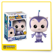 This Pop! Vinyl figure of Duck Dodgers Space Cadet makes an awesome addition to any collection. A must have for fans and collectors!     Figure measures approximately 3 3/4-inches tall and comes packages in a window display box.   For ages 3 and up.