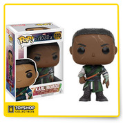 Open your mind and change your reality! From Marvel's 2016 Doctor Strange film, enjoy Mordo as a Pop! Vinyl Figure. The Doctor Strange Movie Mordo Pop! Vinyl Figure measures approximately 3 3/4-inches tall and comes packaged in a window display box.