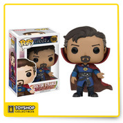 Open your mind and change your reality! From Marvel's 2016 Doctor Strange film, enjoy Stephen Strange as a Pop! Vinyl Figure. The Doctor Strange Movie Pop! Vinyl Figure measures approximately 3 3/4-inches tall and comes packaged in a window display box. Ages 3 and up.