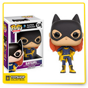 You can bring the female sidekick of Batman home with the Batgirl 2016 vinyl figure from Funko Pop. Batgirl is ready to save the world with her purple and yellow suit and well-known black mask. This 3 3/4-inch tall figure is perfect for expanding your collection to the desk or shelf. Batgirl comes in a window box for display purposes. The Batgirl 2016 Funko Pop is a great gift idea for any Batman fan.