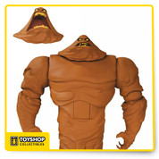 Fans of the Batman: The Animated Series and The New Batman Adventures rejoice! Based on the designs of Bruce Timm, comes The New Batman Adventures Clayface Deluxe Action Figure and he stands 7-inches tall! Clayface comes with an interchangeable head and 3 interchangeable weapon-limbs! For Ages 14 & Up!
