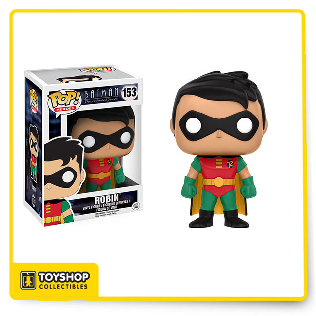 Funko POP  DC Series Batman The Animated Series  Robin #153 new