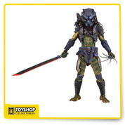 The 11th Series  line of Predators action figures brings new Predators to the hunt! Armored Combat version of the Lost Predator from Predator 2's Lost Tribe. This new take on the very popular Lost Predator features a brand new mask, backpack, armor and weaponry that fit with his tech look.