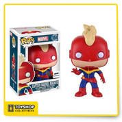Marvel: Captain Marvel Masked GTS Exclusive Pop