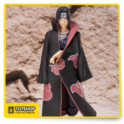 """I'm Sorry, Sasuke. There won't be a next time"". but there will be for collectors of the Naruto S.H.Figure series who pick up S.H.Figuarts Itachi Uchiha! Itachi is beautifully rendered with a meticulous sculpt and paint from the necklace around his neck to his impressive long coat."