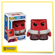 Bring the magic of Disney home with this adorable Funko Pop! Disney Pixar Inside Out Anger figure. It features the hotheaded emotion voiced by Lewis Black.