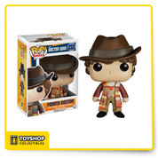 Fourth Doctor is given a fun, and funky, stylized look as an adorable collectible vinyl figure!