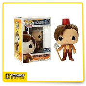 Eleventh Doctor (Fez) is given a fun, and funky, stylized look as an adorable collectible vinyl figure!