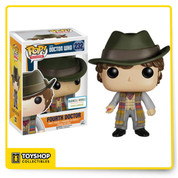 You just can't beat the classics. As the most recognizable iteration with the longest continual streak in the Dr. Who series, the Fourth Doctor is a must-have for serious collectors and casual fans alike. This one's even brought treats!
