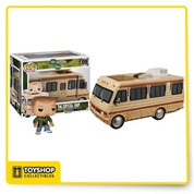 The Crystal Ship's been pretty good to us. Go back to the original roving lab where it all started for Walter White and Jesse Pinkman! The Breaking Bad The Crystal Ship RV with Jesse Pinkman Pop! Vinyl Vehicle includes Jesse wearing a green hoodie, riding along in an impressively painted Winnebago. The RV is covered in dust from the most recent cooking adventure in the desert, features a cracked window, and bullet holes in the door from the pilot episode!