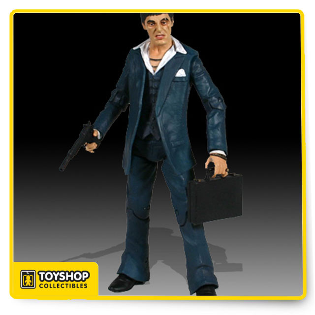 cb680c00fa Mezco launches into spring 2005 with realistic Scarface figures. These 7