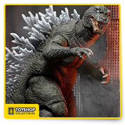 "Celebrating the most famous kaiju of all time, we continue to explore the classic decade-spanning Godzilla franchise! this version of the beloved monster is based on the 2001 movie Godzilla, Mothra, and King Ghidorah: giant monsters all-out attack, a spectacular battle between Godzilla and some of his most famous foes. The figure stands over 6"" tall, with a head-to-tail measurement of over 12"" long. It features incredible detail and over 30 points of articulation, including an articulated tail!."