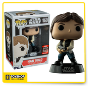 Star Wars Han Solo 2017 Galactic Convention Exclusive Pop
