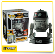 Star Wars Rebels Chopper 2017 Galactic Convention Exclusive Pop