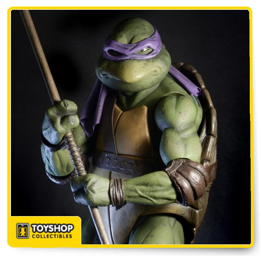 Teenage Mutant Ninja Turtles 1990 Movie 1 4 Scale Donatello Figure
