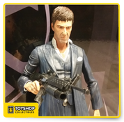Scarface Tony Montana Blue Suit 1/4 Scale Figure
