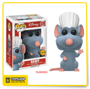 Disney Ratatouille Remy CHASE Flocked Pop