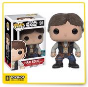 Star Wars Han Solo Ceremony 2016 Galactic Convention Exclusive Pop