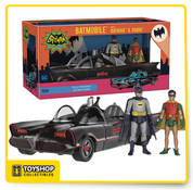 Batman Classic TV Series Batmobile with Batman & Robin