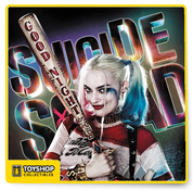 Suicide Squad Harley Quinn Baseball Bat Authentic Prop Replica