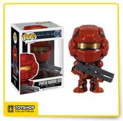 Halo 4 Spartan Warrior Red Pop