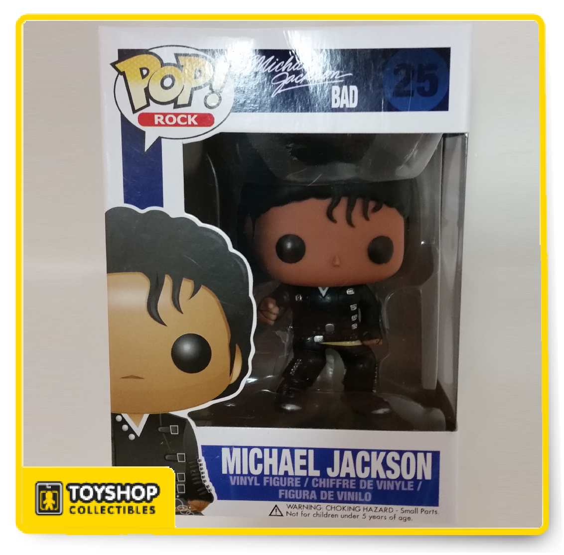 """NEUVE Figurine FUNKO POP N°23 Michael Jackson /""""Beat it/"""" Figure"""