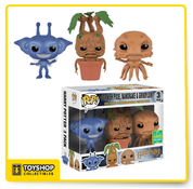 Harry Potter Gornish Pixie, Mandrake and Grindylon SDCC Exclusive Pack of 3 Pop