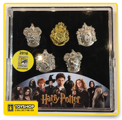 Harry Potter Label Pin 5 Piece Set 2016 SDCC Exclusive
