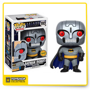Batman The Animated Series Batman Robot CHASE Pop