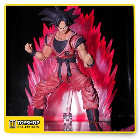 Dragon Ball Z Figuarts Son Goku Kaiohken SDCC Bandai Tamashii