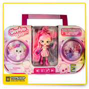 Shopkins Shoppies Bubble Gum Pop Bubbleisha Doll SDCC UCC In Hand