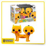 Nickelodeon Catdog Flocked 221 Summer Convention Exclusive Pop