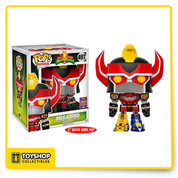 Power Rangers Megazord 497 Summer Convention Super Sized Pop