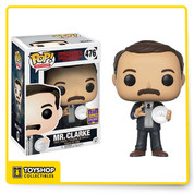 Stranger Things Mr Clarke 476 SDCC Exclusive Pop
