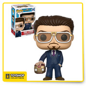 Marvel Spider-Man Homecoming Tony Stark Helmet 225 SDCC Exclusive Pop