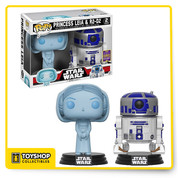 Star Wars Princess Leia and R2-D2 Pack of 2 SDCC Exclusive Pop