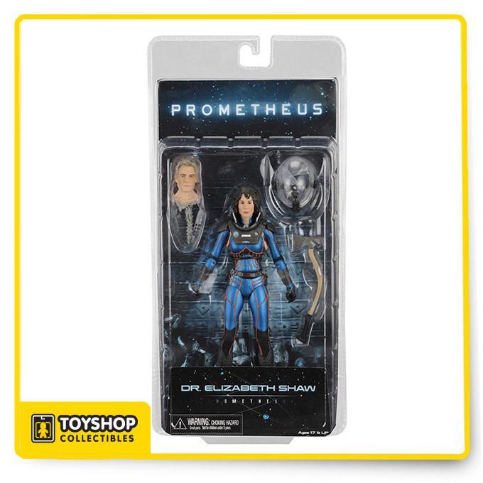 "7/"" Deluxe Action Figure NECA Fifeld Prometheus Series 4 The Lost Wave"