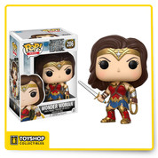DC Justice League Wonder Woman 206 Pop