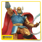 Marvel Milestones Armored Thor Resin Statue